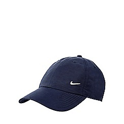 Nike - Navy silver plated logo cap