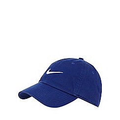 Nike - Blue logo applique baseball cap