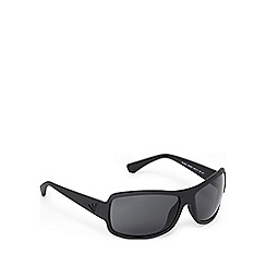 Emporio Armani - Black and navy D-frame sunglasses