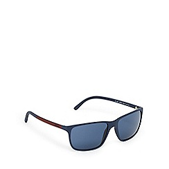 Ralph Lauren Polo - Blue square D-frame sunglasses