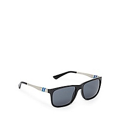 Ralph Lauren Polo - Black and navy D-frame sunglasses