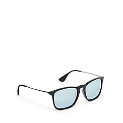 Ray-Ban - Black keyhole bridge wayfarer sunglasses