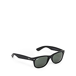 Ray-Ban - Black and green 'Wayfarer' sunglasses