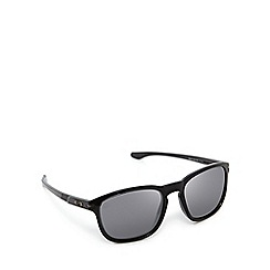 Oakley - Grey keyhole square sunglasses