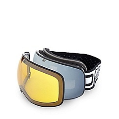 Dirty Dog - Yellow 'Mutant 2.0' ski goggles