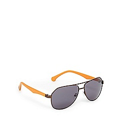 Converse - Orange and grey aviator sunglasses