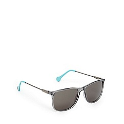 Converse - Grey and light blue D-frame sunglasses