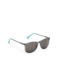 Converse - Grey and light blue D-frame sunglasses