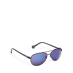 Converse - Navy and blue aviator sunglasses