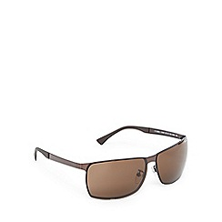 Police - Brown tinted rimless sunglasses