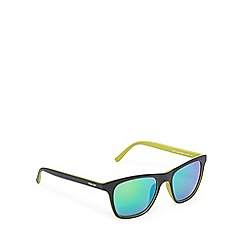 Police - Green tinted square sunglasses