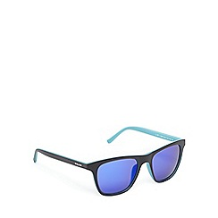 Police - Blue tinted square sunglasses