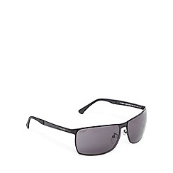 Police - Black rectangle sunglasses