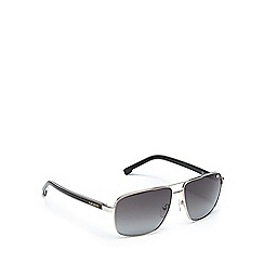 Lacoste - Gold and grey aviator sunglasses