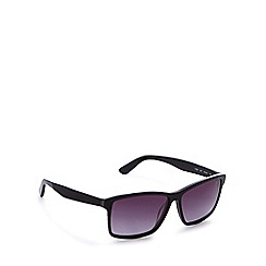 Lacoste - Grey tinted square sunglasses