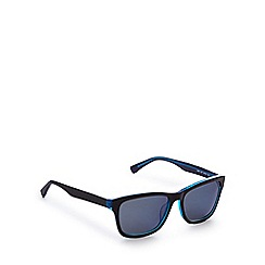 Lacoste - Blue and black D-frame sunglasses