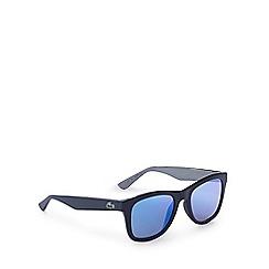 Lacoste - Blue D-frame sunglasses