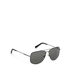 Lacoste - Green tinted aviator sunglasses