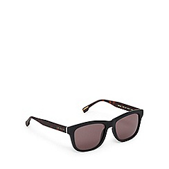 Ted Baker - Grey and brown D-frame sunglasses