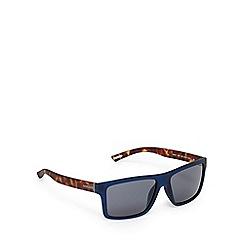 Ted Baker - Navy tortoiseshell D-frame sunglasses