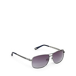 Ted Baker - Silver and grey aviator sunglasses