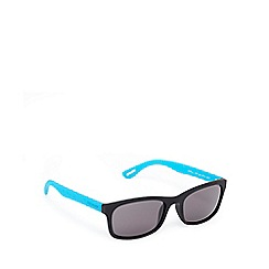 Ted Baker - Blue and grey D-frame sunglasses