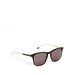 Ted Baker - Brown tortoiseshell D-frame sunglasses