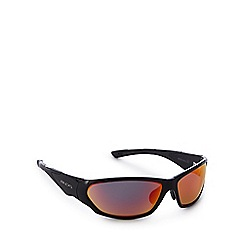 Bloc - Black tinted wrap around sunglasses