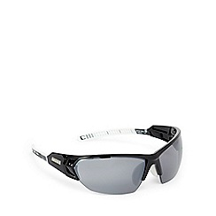 Bloc - Black and grey wraparound sport sunglasses