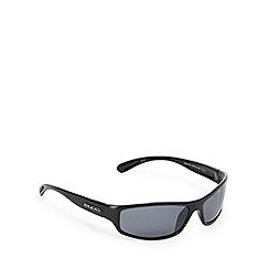 Bloc - Black and grey polarised D-frame sunglasses
