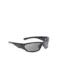 Bloc - Dark grey tinted rectangle sunglasses