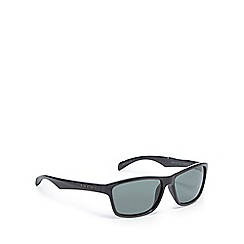 Bloc - Green tinted polarised square sunglasses
