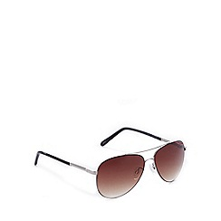 Bloc - Brown aviator sunglasses