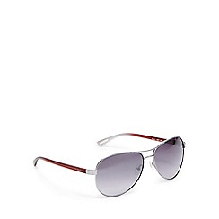 Ted Baker - Red aviator sunglasses