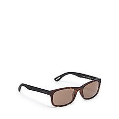 Ted Baker - Brown tortoiseshell square sunglasses