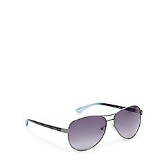 Ted Baker - Grey aviator sunglasses
