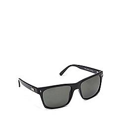 STORM - Black logo arm square sunglasses