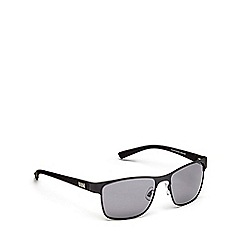 STORM - Grey metal top bar sunglasses