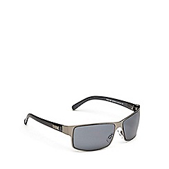 STORM - Grey metal rim sunglasses