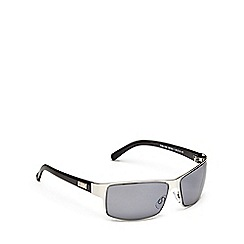STORM - Silver rectangle frame sunglasses