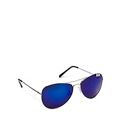 STORM - Blue tinted aviator sunglasses