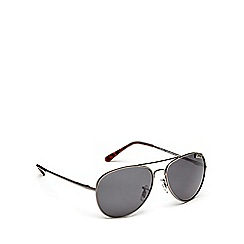 STORM - Grey aviator sunglasses