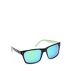 STORM - Green tinted square sunglasses