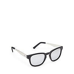 STORM - Black keyhole bridge square sunglasses