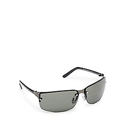 STORM - Green tinted rimless sunglasses
