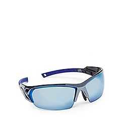 Stormtech - Blue tinted polarised semi rimless sunglasses