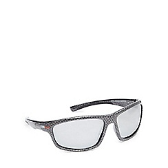 Stormtech - Grey polarised wrap-around rectangle sunglasses
