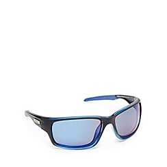 Stormtech - Blue tinted polarised rectangle sunglasses