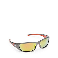 Stormtech - Black and red polarised rectangle sunglasses