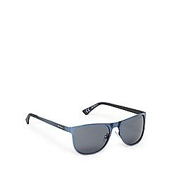 Ben Sherman - Blue and grey D-frame sunglasses